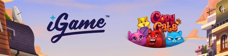 Tallettajille 100 ilmaiskierrosta uuteen Copy Cats –peliin