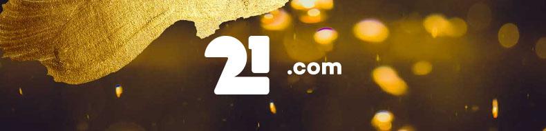 Pelaa Pragmatic Playn pelejä 21.comissa ja voita 10.000 euron kultaharkko!