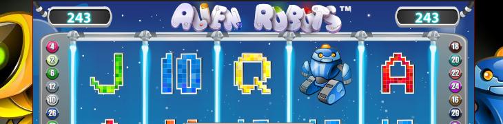 Uusi Alien Robots -peli julkaistu - lunasta freespinnit
