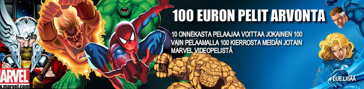 Pelaa supersankaripelejä Bet24:llä ja voita 100 euroa