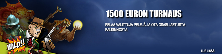 Bet24:llä 1500 euron casinoturnaus