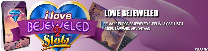 Voita läppäri, iPod tai pelirahaa pelaamalla Bejewelediä