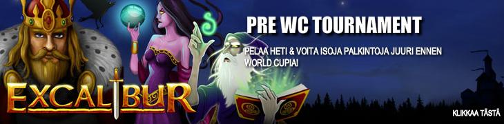 Voita matkalahjakortti World Cup -esiturnauksesta Bet24:n casinolla