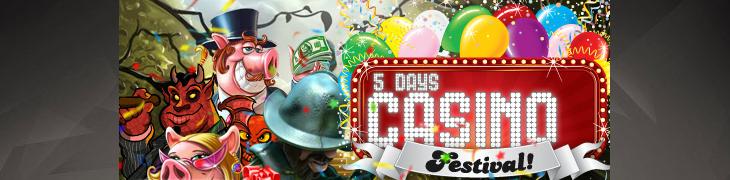 Viiden päivän casinofestivaali starttasi Betsafella