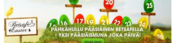 Betsafella vietetään pääsiäisriehaa - ilmaiskierroksia ja bonuksia tarjolla