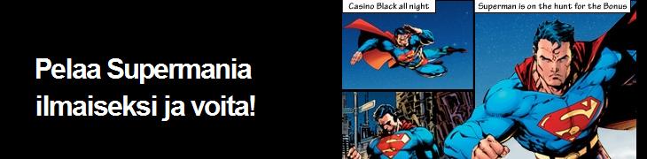 Betsafelta ilmaista pelirahaa Supermaniin