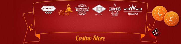 Betsson avasi Casino Storen - hae päivittäinen erikoistarjous