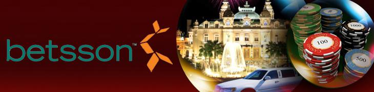 Rekisteröidy Betssonin casinolle ja voita matka Monte Carloon!