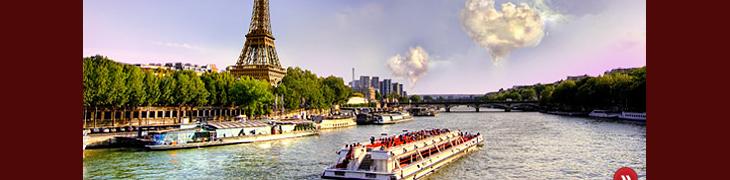 Voita romanttinen matka Pariisiin Betssonin casinolla