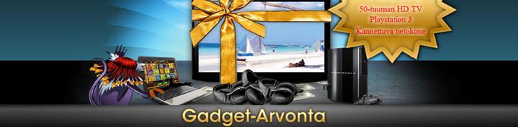 Voita 50-tuuman HD-TV Betwayn Gadget-kilpailusta