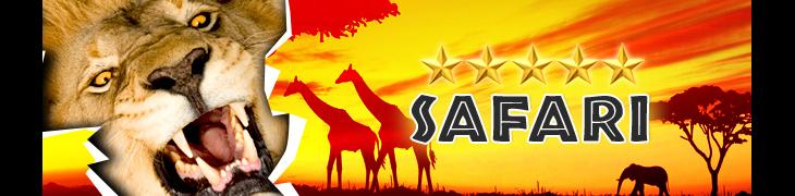 Voita 5-tähden safariloma Casino.comin talletusarpajaisista