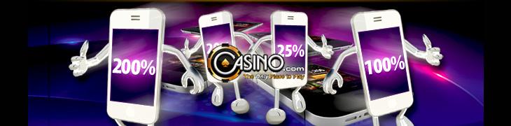 Casino.comin elokuu täynnä reload-bonuksia