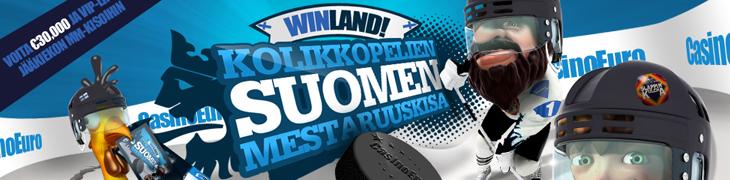 CasinoEurolla kisaillaan kolikkopelien Suomen mestaruudesta
