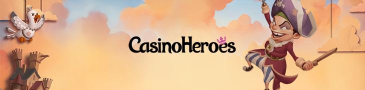 Hanki Casino Heroesilta tänä viikonloppuna jopa 450 ilmaiskierrosta