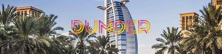 Talleta Dunderille ja voita luksusmatka Dubaihin!