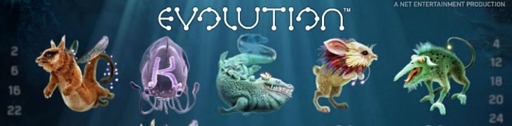 NetEntin peliuutuus Evolution nyt pelattavissa
