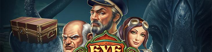 Eye of the Kraken on Play'n GO:n lokakuun peliuutuus