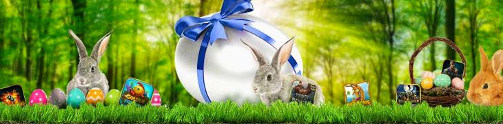 Pääsiäisen munajahdissa jaossa 50 000 € edestä palkintoja