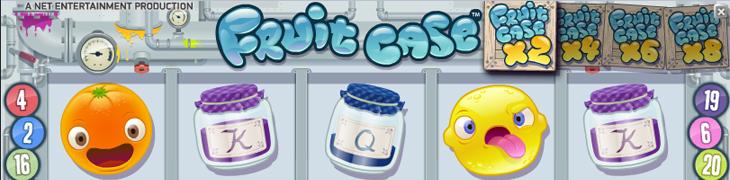 Uusi Fruit Case -peli julkaistu - lunasta ilmaiskierrokset