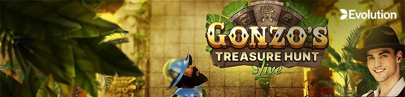LeoVegas jakaa 5000 euroa uudessa Gonzo's Treasure Hunt Livessä