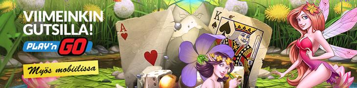 Play'n GO täydentää Gutsin pelivalikoimaa