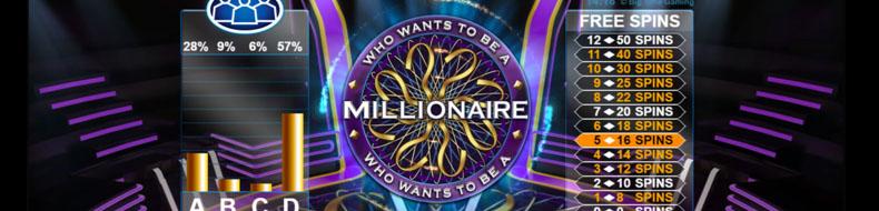 Haluatko miljonääriksi TV-klassikko nyt uutena casinopelinä!