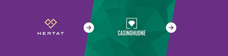 Hertat yhdistyy Casinohuoneen kanssa – pelitilit siirretään 14.2.