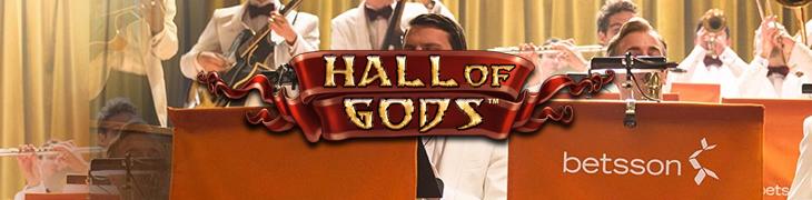 Hall of Godsin jackpot voitettiin jälleen Betssonilla