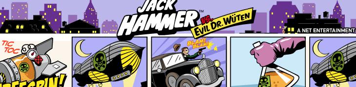 Betssonilla 10 ilmaiskierrosta Jack Hammer -uutuuspeliin!