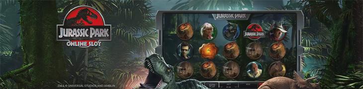 Jurassic Park saapui Microgaming-casinoille mukanaan erikoistarjouksia