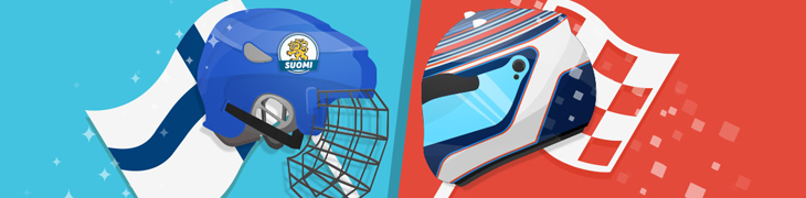 Kolikkopeleillä jaossa matkapaketit lätkän MM-kisoihin ja Barcelonan F1-kisaan