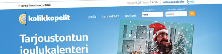 Kolikkopelit.com päivitti ilmettään