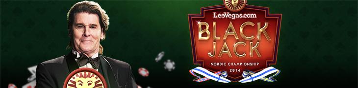 LeoVegasilla kisaillaan pohjoismaiden Blackjack-mestaruudesta