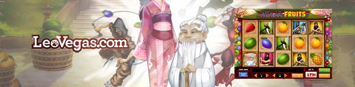 LeoVegas sopimukseen Play'n Go:n kanssa - Ninja Fruitsin maailmanensi-ilta