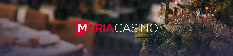 Maria Casino tarjoaa lucky spin -kampanjan voittajalle 1500 euron jouluostokset