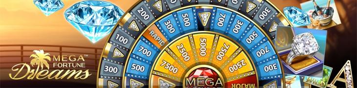 Unibet-pelaajalle 3.2 miljoonaa Mega Fortune Dreamsista