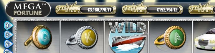 Mega Fortunen jackpot jo yli 3 miljoonaa euroa