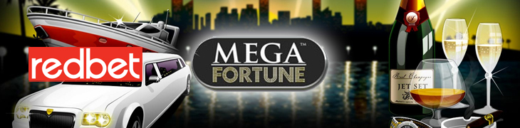 Talleta 20€ ja saat 75 ilmaiskierrosta Mega Fortunen miljoonajahtiin