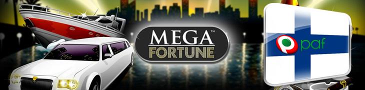 Mega Fortunen ennätyspotti putosi - SUOMEEN!