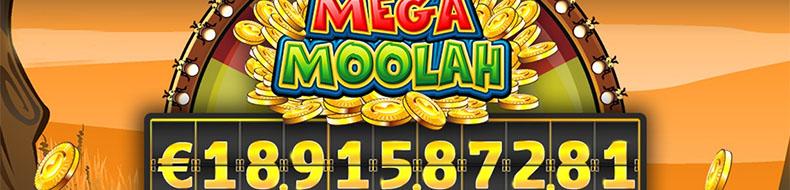 Mega Moolahista 18.9 miljoonaa euroa – uusi ennätysvoitto!