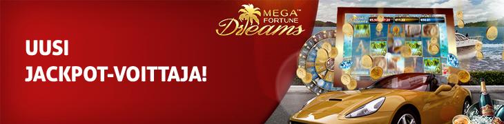 Mega Fortune Dreams sai kolmannen jackpot-voittajan