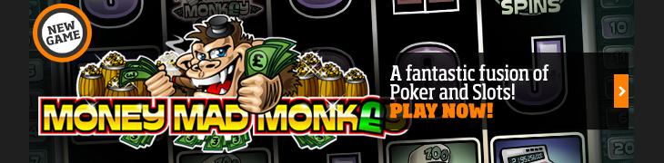 Kokeile uutta Money Mad Monkey -kolikkopeliä Expektillä