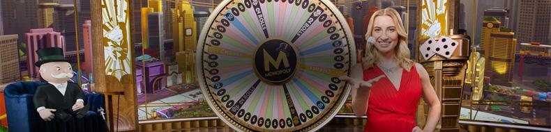 Jättikerroin Evolutionin Monopoly Livessä – yli 5 miljoonan euron edestä voittoja!