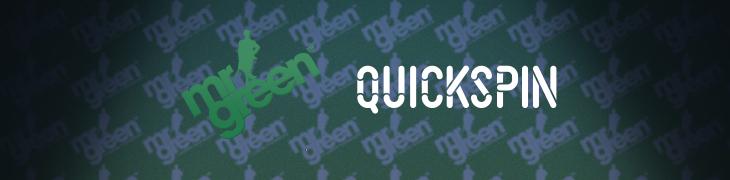 Mr Green sopimukseen Quickspinin kanssa