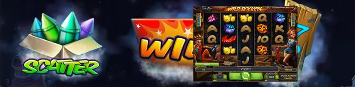 NetEntin uutuus Wild Rockets valloittaa Betsafen casinolla