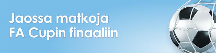Osallistu NordicBetin casinoturnaukseen ja voita 2700e arvoinen matka FA Cupin finaaliin!