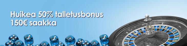 NordicBetiltä 150 euron reload-bonus - tallettajien kesken arvotaan matkapaketteja maaotteluun