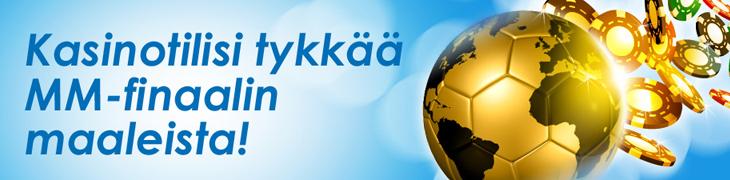 NordicBet maksaa jokaisesta MM-finaalimaalista 5% extraa casinovoittojen päälle