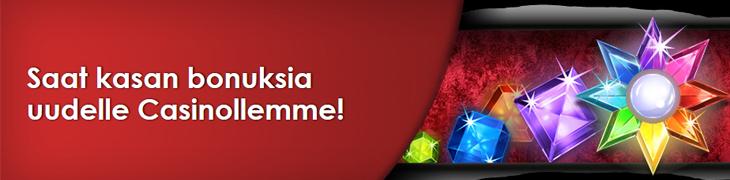 NordicBet päivitti casinoaan - kokeile ilmaisrahalla!