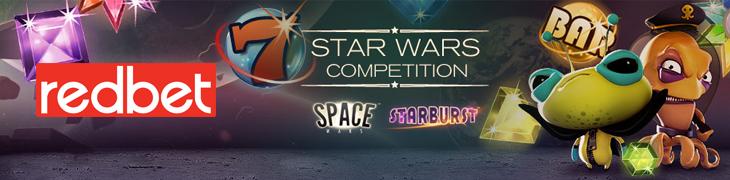 Redbet jakaa runsaasti ilmaiskierroksia Star Wars -kilpailussa